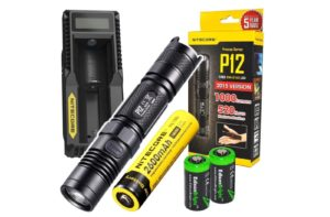 NITECORE P12 best 18650 flashlight